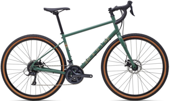 "Велосипед 28"" Marin FOUR CORNERS рама - XL 2021 Gloss Green/Tan"